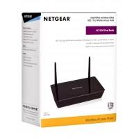 Netgear WAC104-100PES Bezprzewodowy punkt dostępowy (AP,Bridge)
